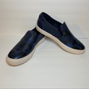 NEW Coach Military Camo Slip Ons